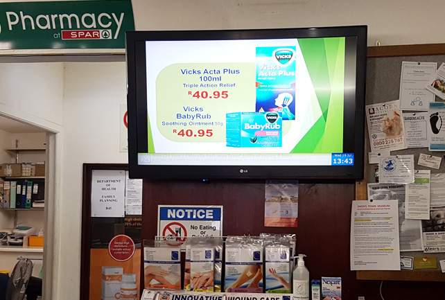 Daily Promo Displays Digital