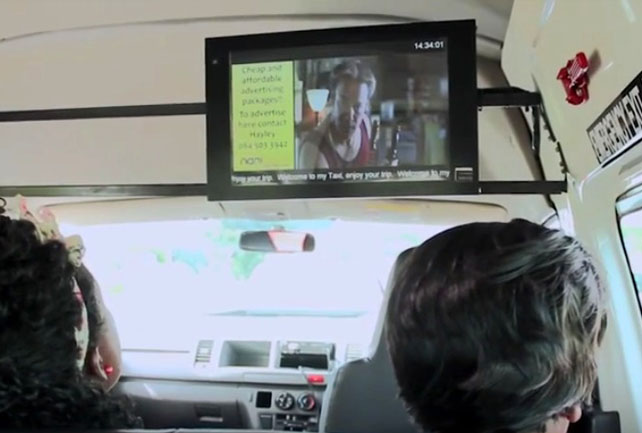 In Transit Digital Screen for Vehicles