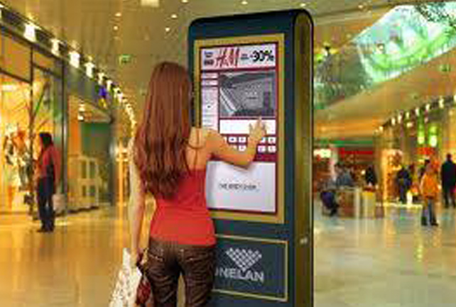 Digital Retail Display Signage