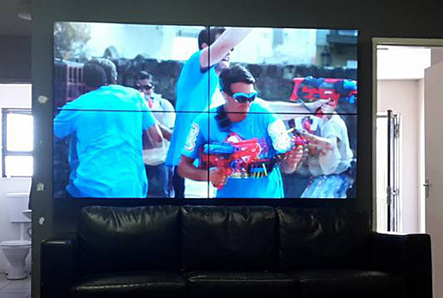 TV Video Wall Display